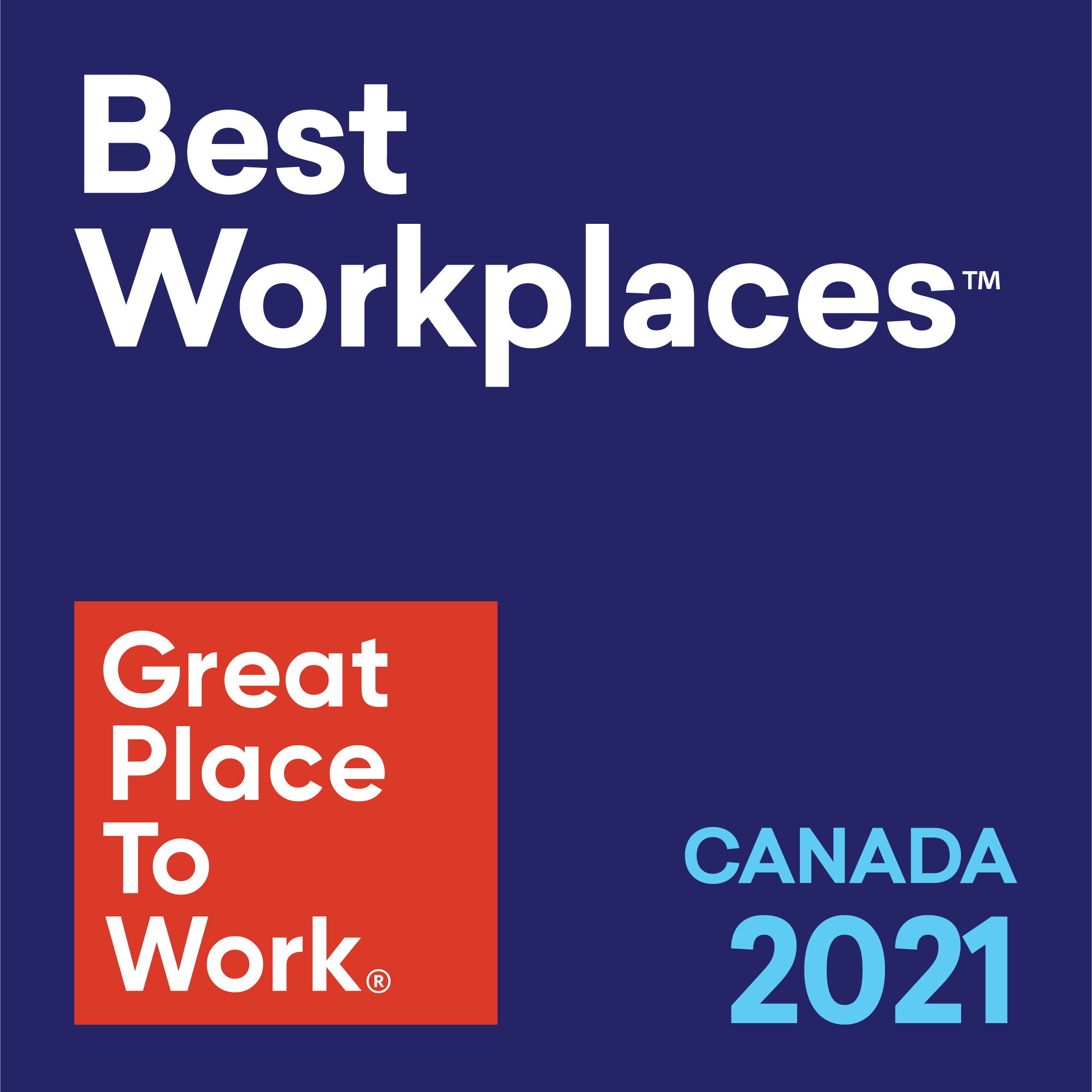 Best Workplaces in Canada 2021
