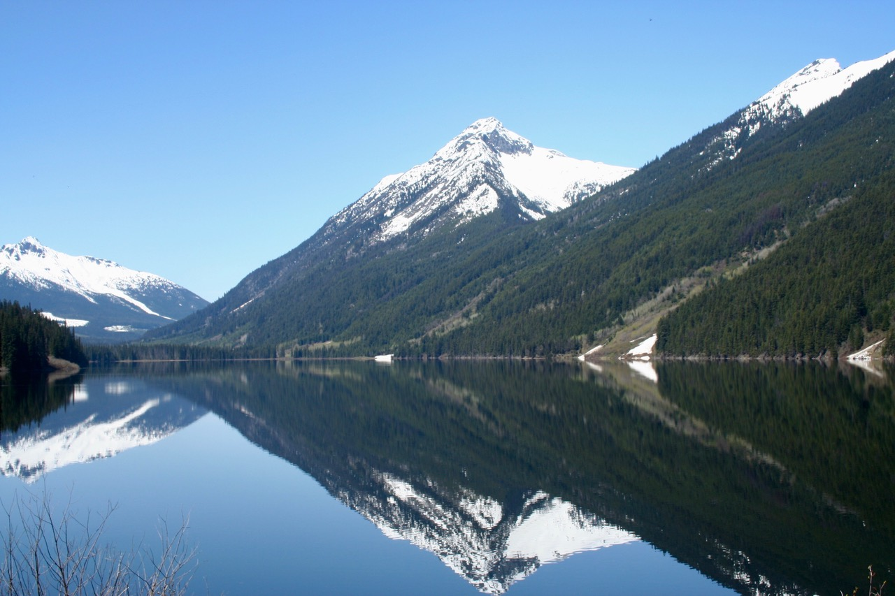 Best Motorcycle Trips in BC and Beyond - Lillooet Lake